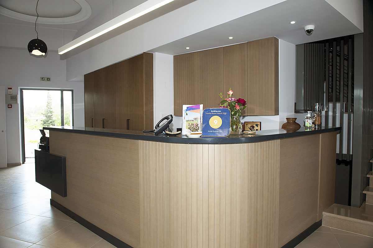 golden sun hotel reception