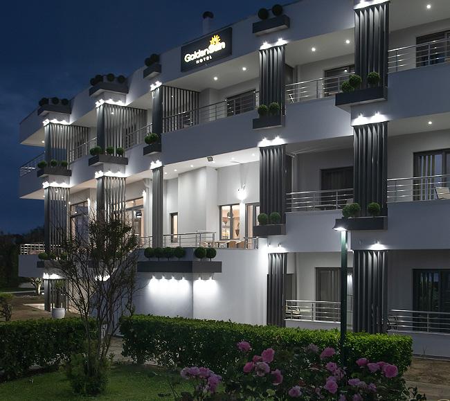 goldensunhotel night view